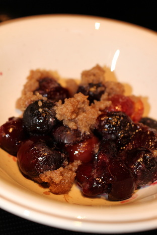 Camela Thompson Cherry Cobbler
